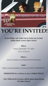 THERE'S GONNA BE A BOOK PARTY!