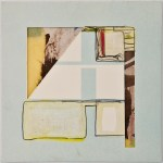 Map 27 - Letterpress and Mixed Media - 6x6 - 2013