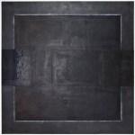Anima 2 - Wax Graphite Pastel on Panel - 30x30