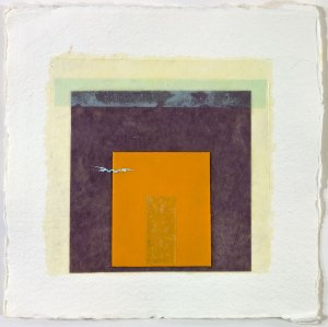 EPIPHYSIS 4 - 8x8 - Wax, Paper and Oil on Paper - 2010