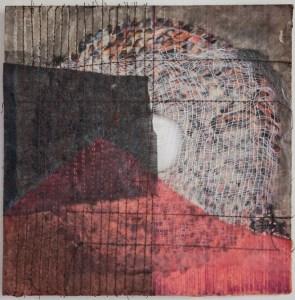 CorresponDance 4 - Mixed Media - Mail Art Project - 8x8 - 2013