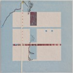 Map 13 - Letterpress and Mixed Media - 6x6 - 2013
