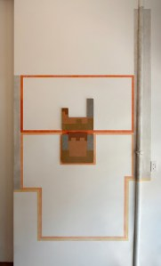 Krista Svalbonas - Brunswick E 1 and 2 installation - Pocket Utopia Gallery - New York, NY - 2013