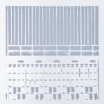 Krista Svalbonas - Giessen 1, aluminum photo-serigraph on mylar , 9x9, 2013