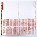 Krista Svalbonas - Giessen 2, copper photo-serigraph on mylar , 22x22, 2013