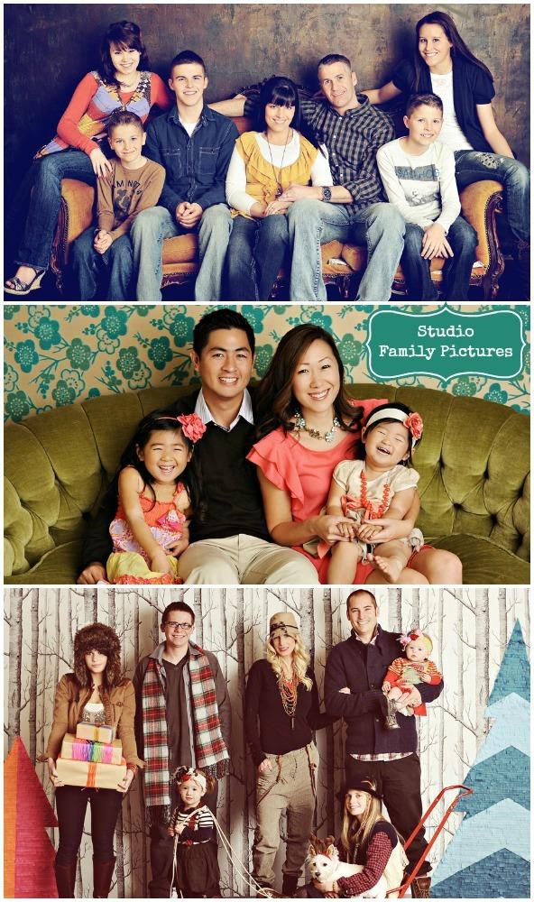 Studio Family Pictures