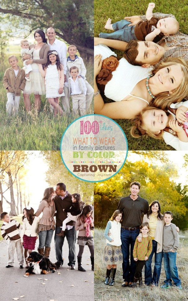 Picture Clothes by Color Series-Brown - Capturing Joy with ...