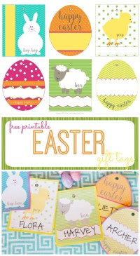 Free printable easter basket tags merry christmas and happy new free printable easter basket tags negle Gallery