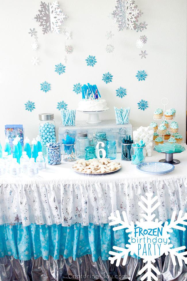 frozen birthday party capturing joy
