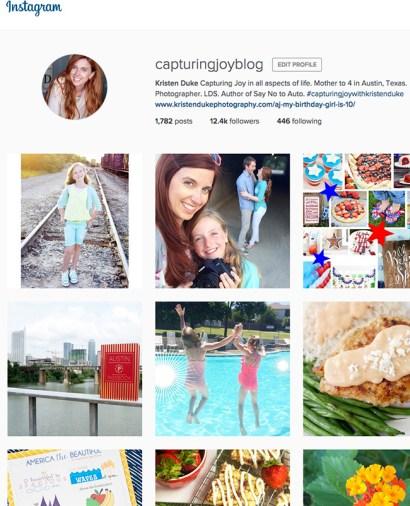 CapturingJoyBlog Instagram