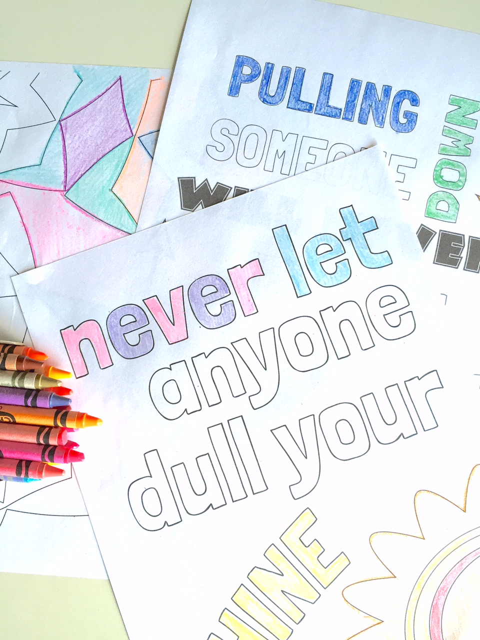 Kid Quote Coloring Pages Capturing Joy With Kristen Duke