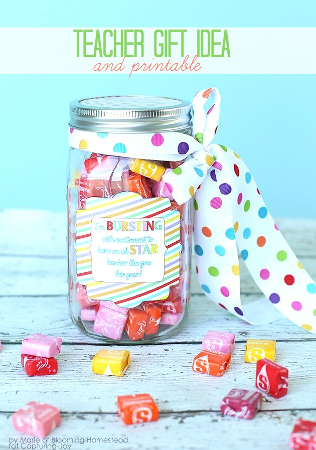 Teacher Appreciation Sayings With Candy