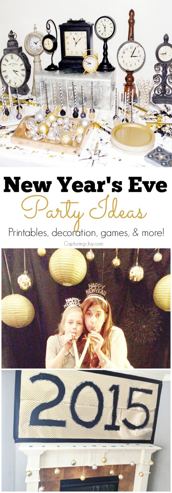New Years Eve Photo Booth Free Printables - Capturing Joy ...