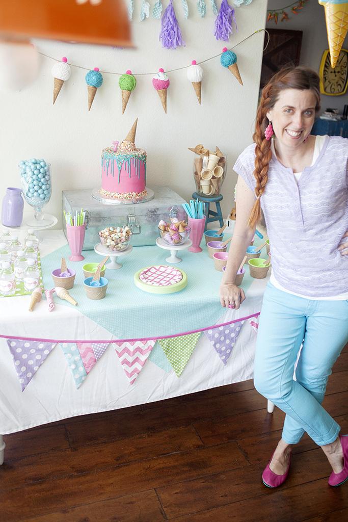 Kids Ice Cream Birthday Party Capturing Joy With Kristen Duke