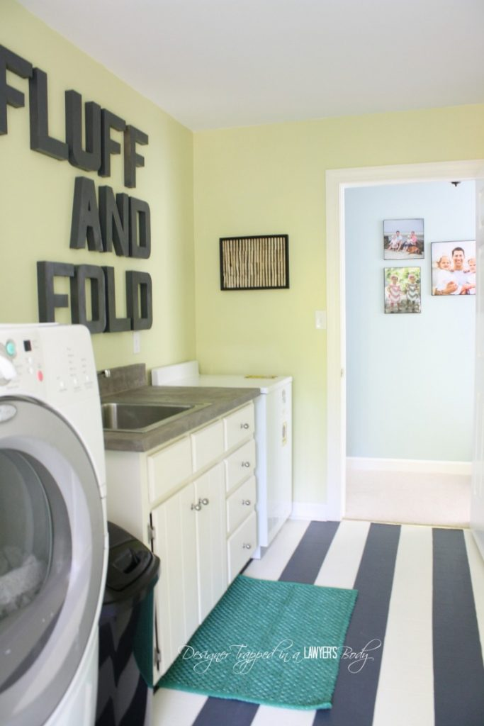 21 of the best laundry room hacks on paint for laundry room floor ideas images id=76057