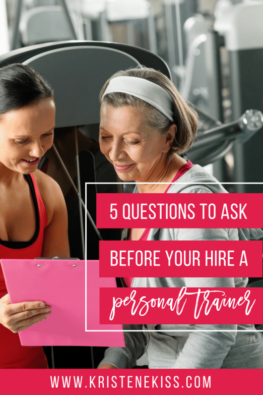 5 Questions to Ask Before You Hire a Personal Trainer