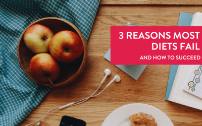 3 Reasons Most Diets Fail and How to Succeed