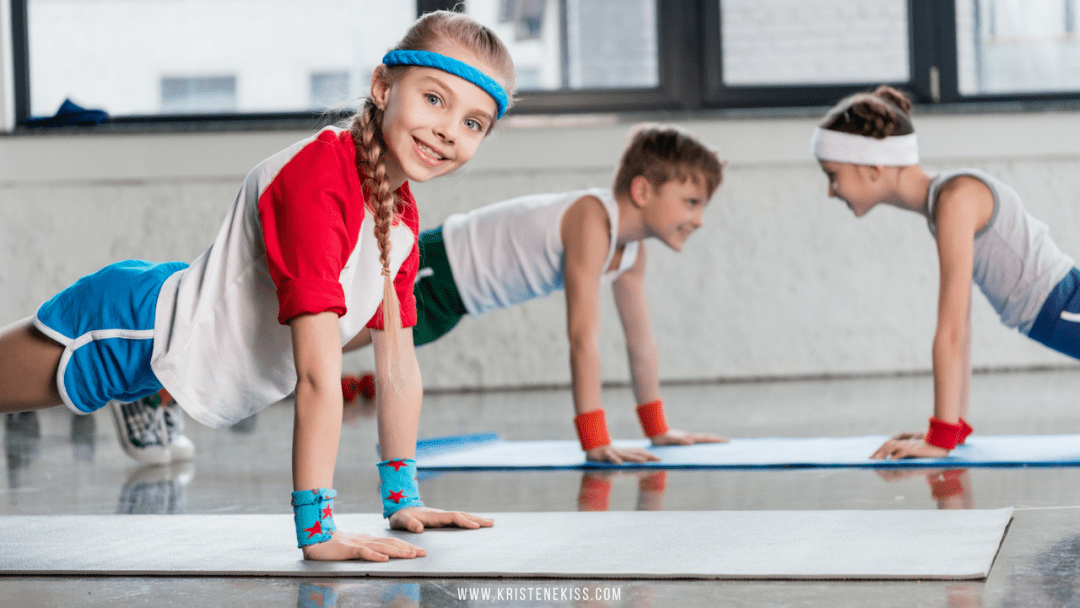 3 Ways to Exercise at Home With Your Kids