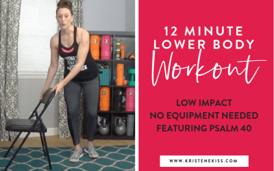 Lower Body, Low Impact Workout