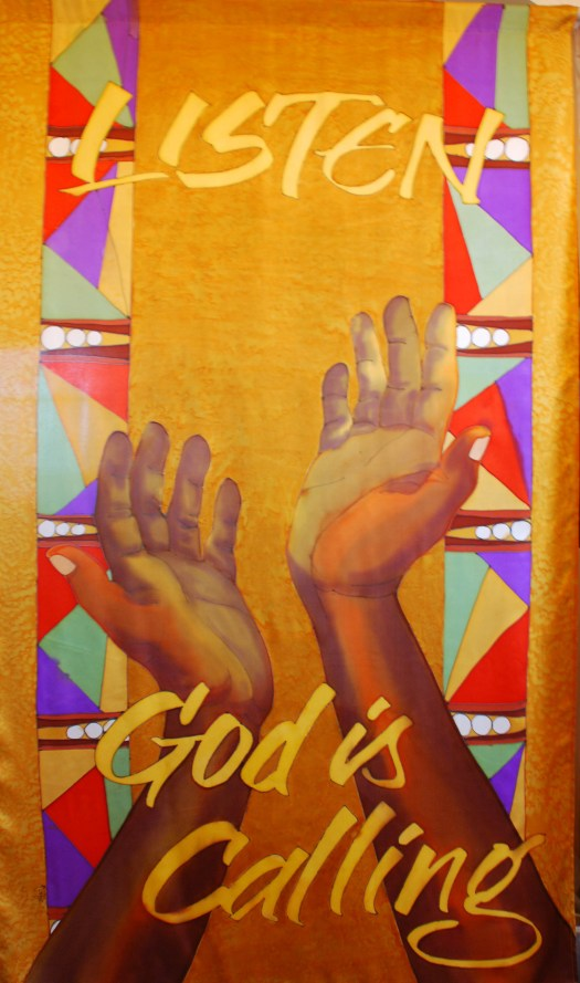 Finished Banner for St. Marks by the Narrows, Tacoma, WA
