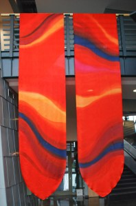 Kristen Gilje, Philadelphia Seasonal Banners, Red