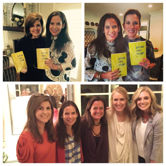 So many awesome friends in Dallas, Texas who came for Get Your Story Straight.