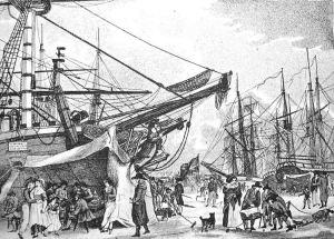 The Last Frost Fair: The Frost Fair, 1814 London