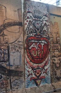 Expand Your Comfort Zone -- A Photo of a section of the Berlin Wall at The Newseum in Washington, D.C. by Kristen Koster