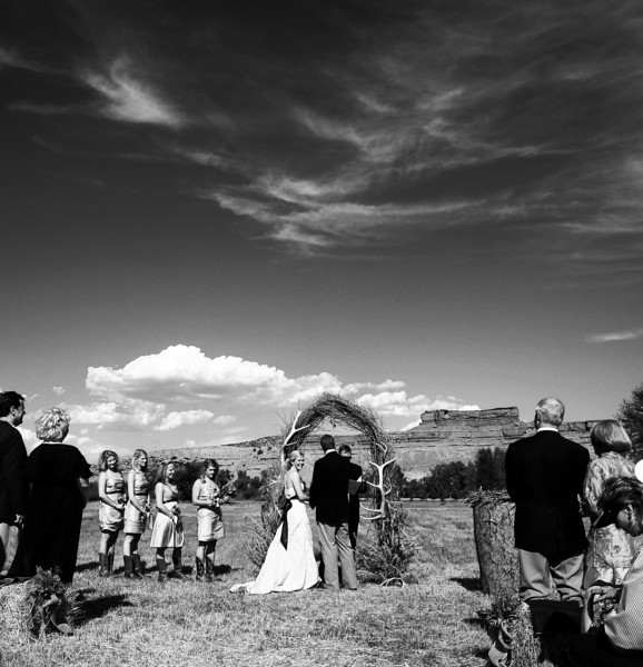 wyoming hole in the wall ranch wedding