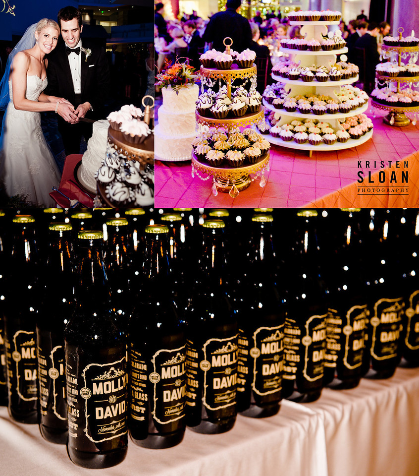 dessert stand denver coors beer wedding