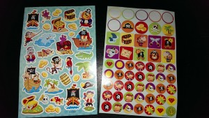 pirate stickers!