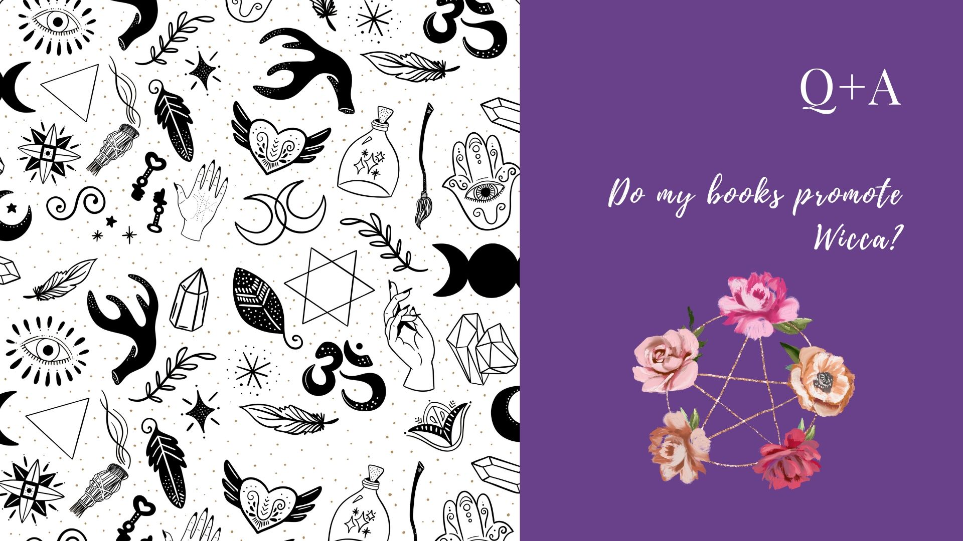Read more about the article Q+A: Do my books promote Wicca?