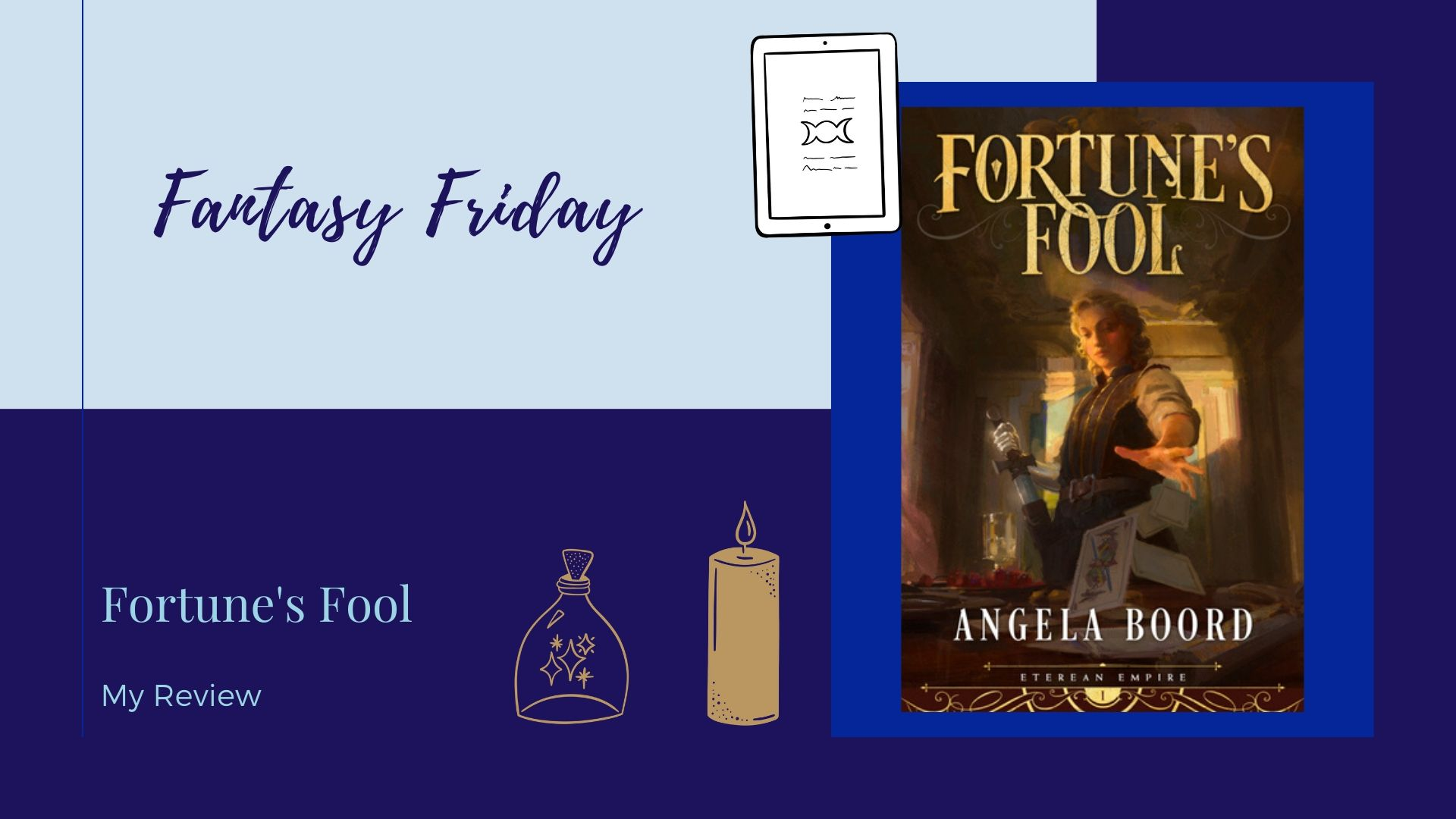 #SPFBO Review: Fortune's Fool by Angela Boord