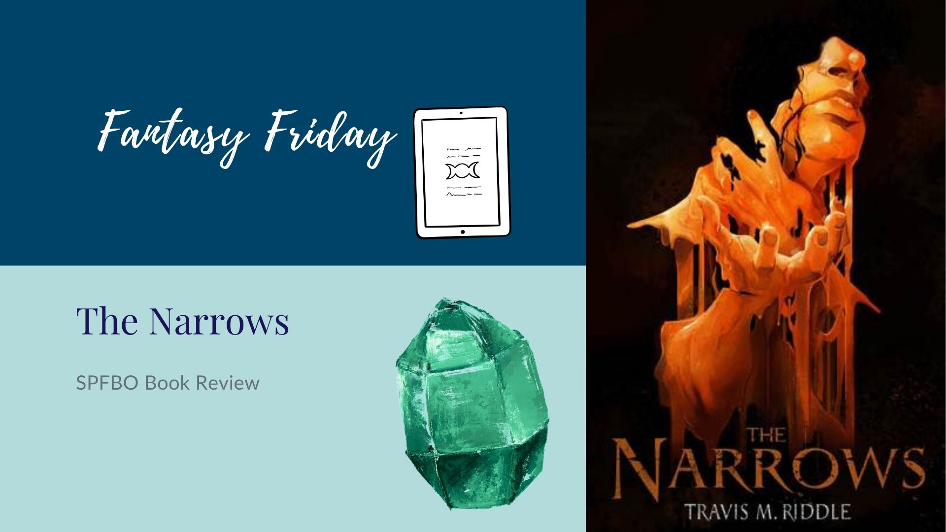 Read more about the article Fantasy Friday: The Narrows by Travis M. Riddle