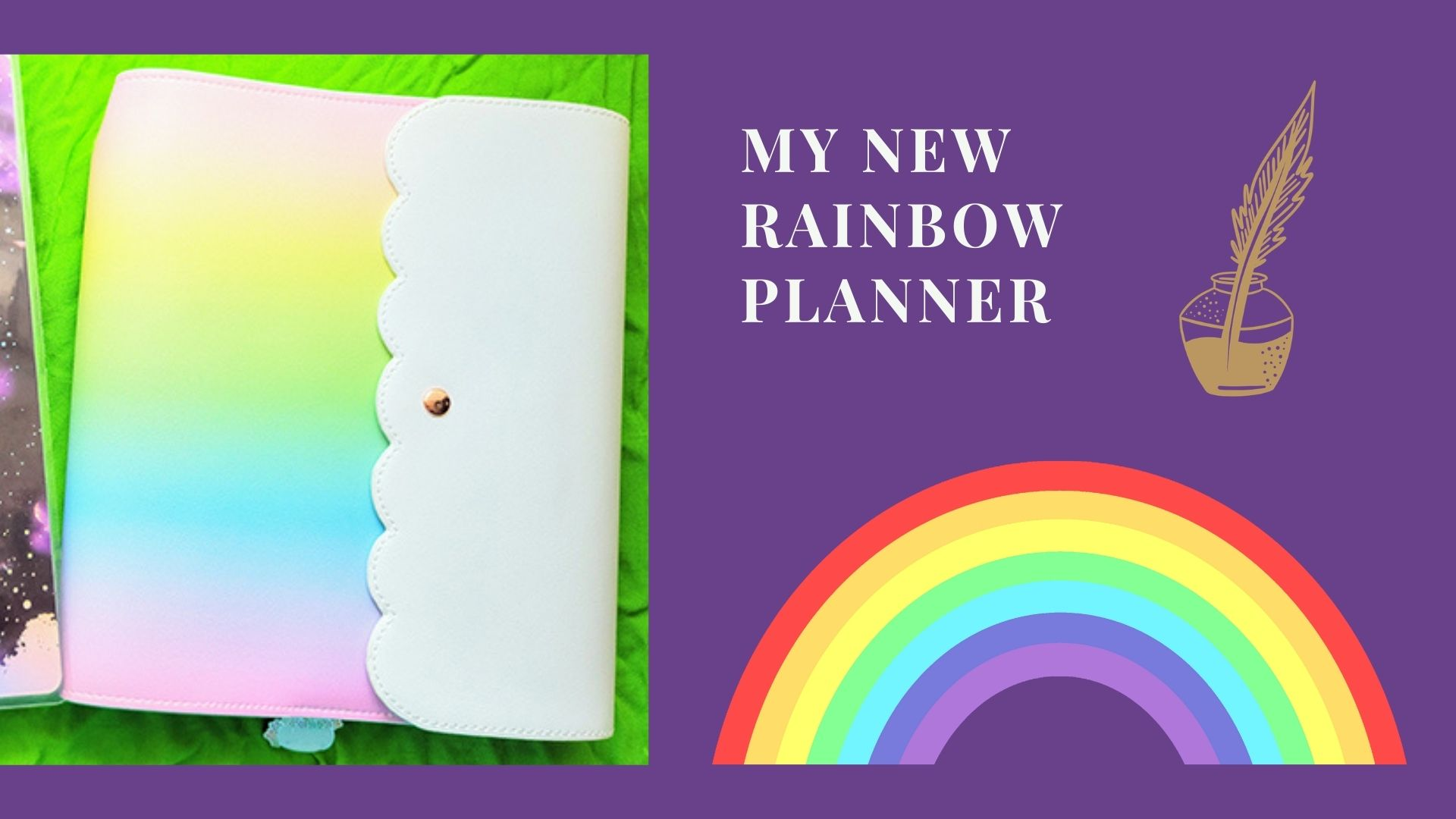 Read more about the article My New Rainbow Planner