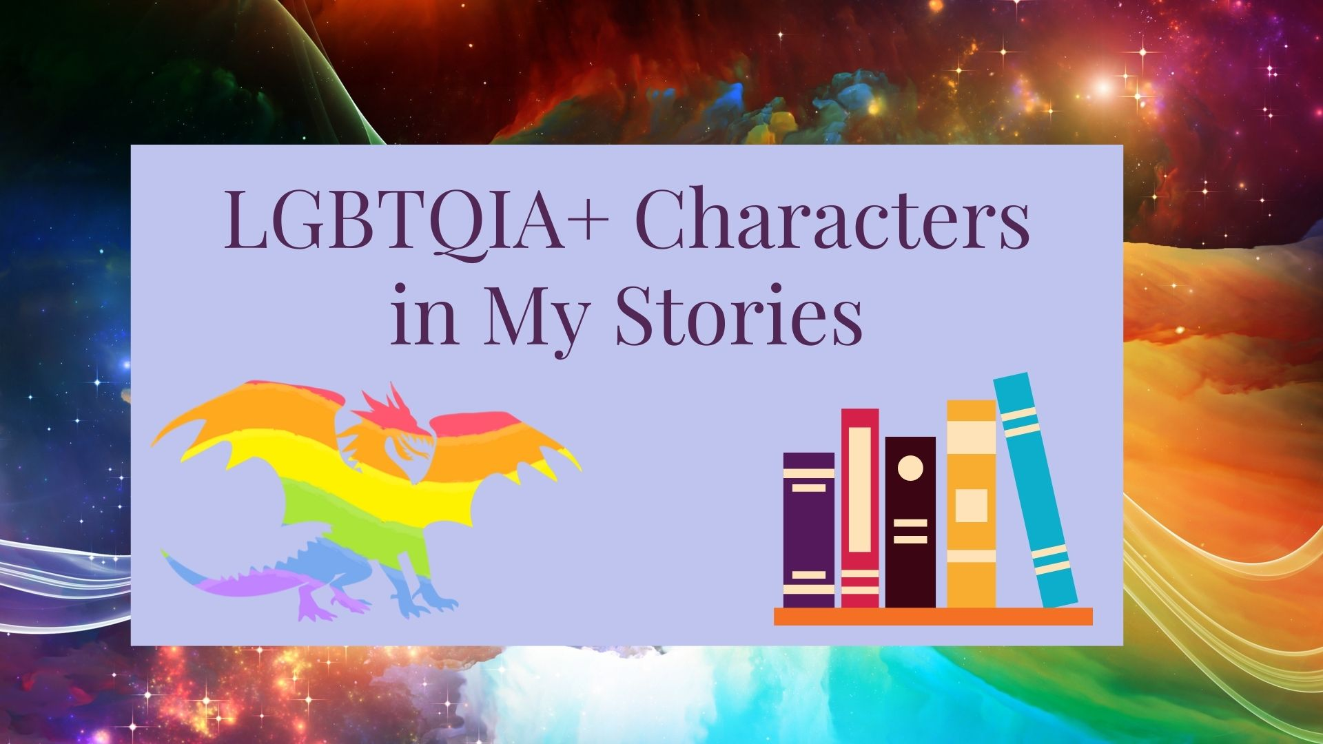 Read more about the article LGBTQIA+ Characters in My Stories