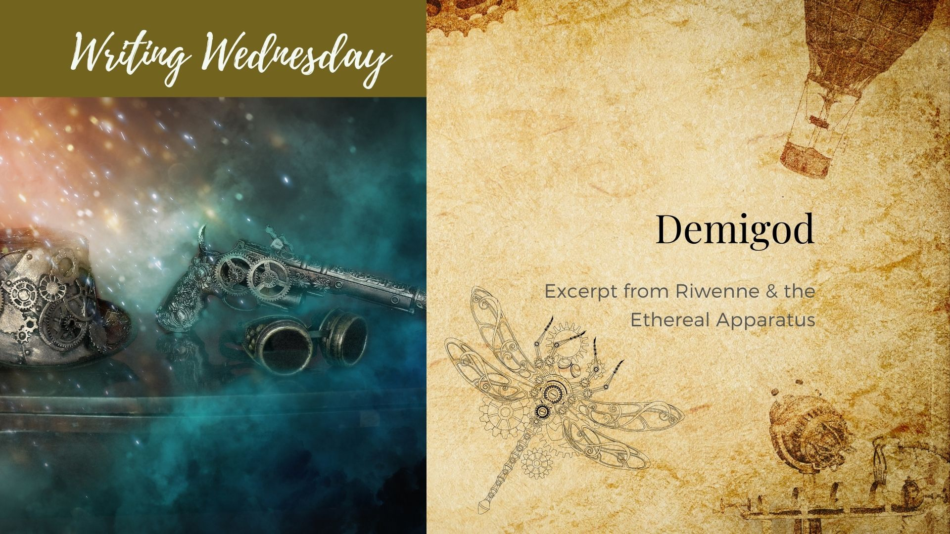 Read more about the article Writing Wednesday: Demigod