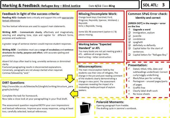 Whole Class Marking And Feedback Kristianstill