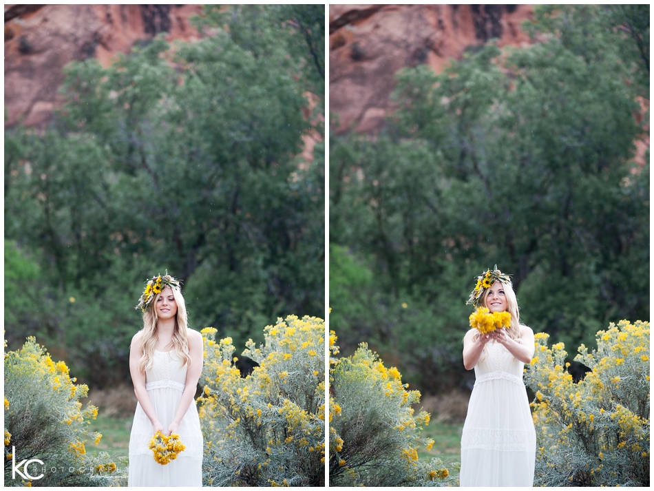 Desert Sunflowers | Utah Wedding Photographer