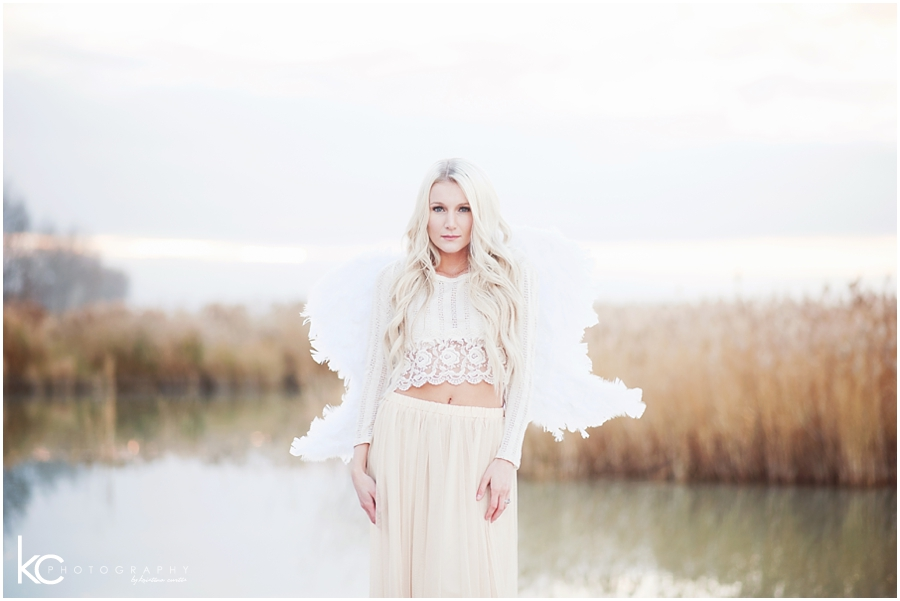 Christmas Angel | Utah Wedding Photographer