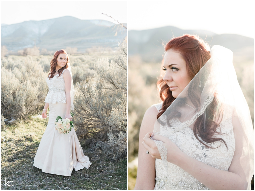 Lakeside Bridals Ashlee | Utah Wedding Photographer Kristina Curtis