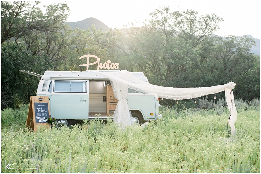 Bohemian Salt Lake Wedding  | Photo Booth Bus | Utah Kristina Curtis Photography
