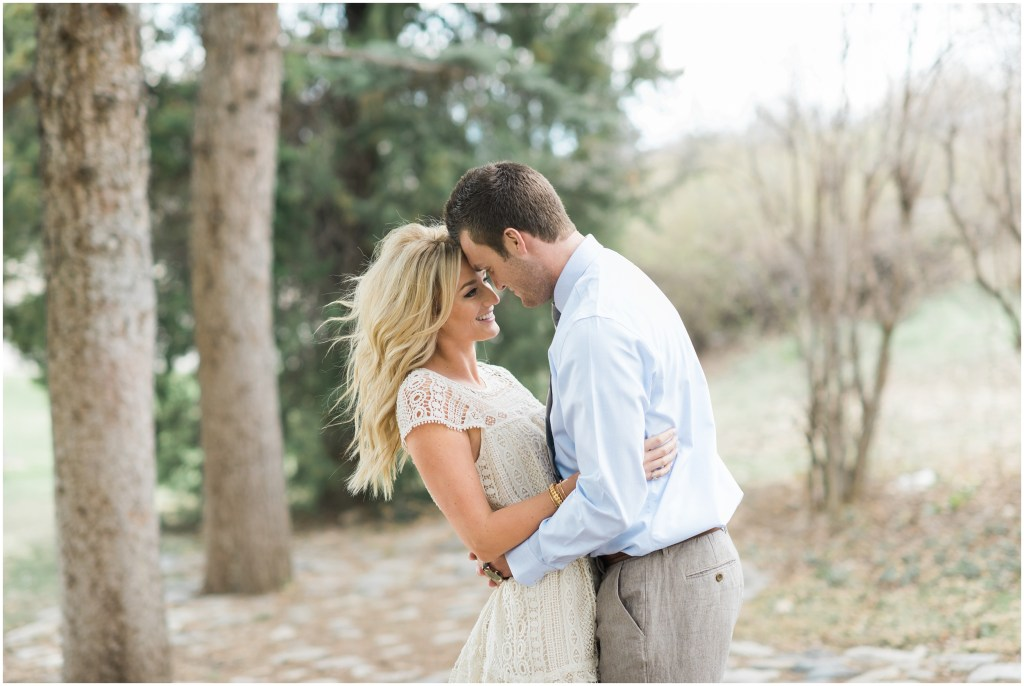 Spring Evergreen Engagements | Kristina Curtis Photography Utah