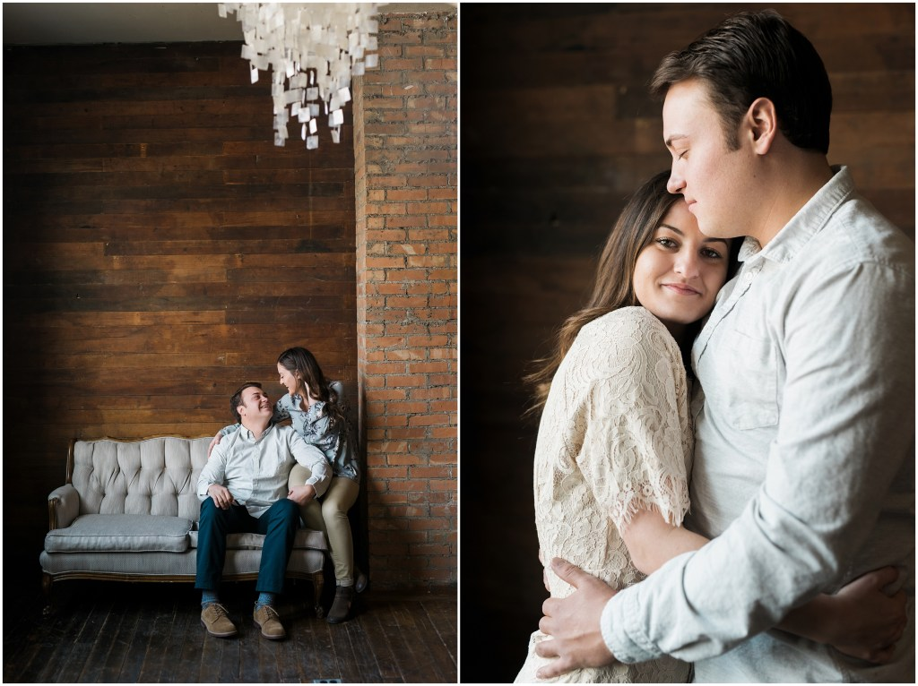 Lifestyle Utah Engagements | Natural Light Studio| Kristina Curtis Photography