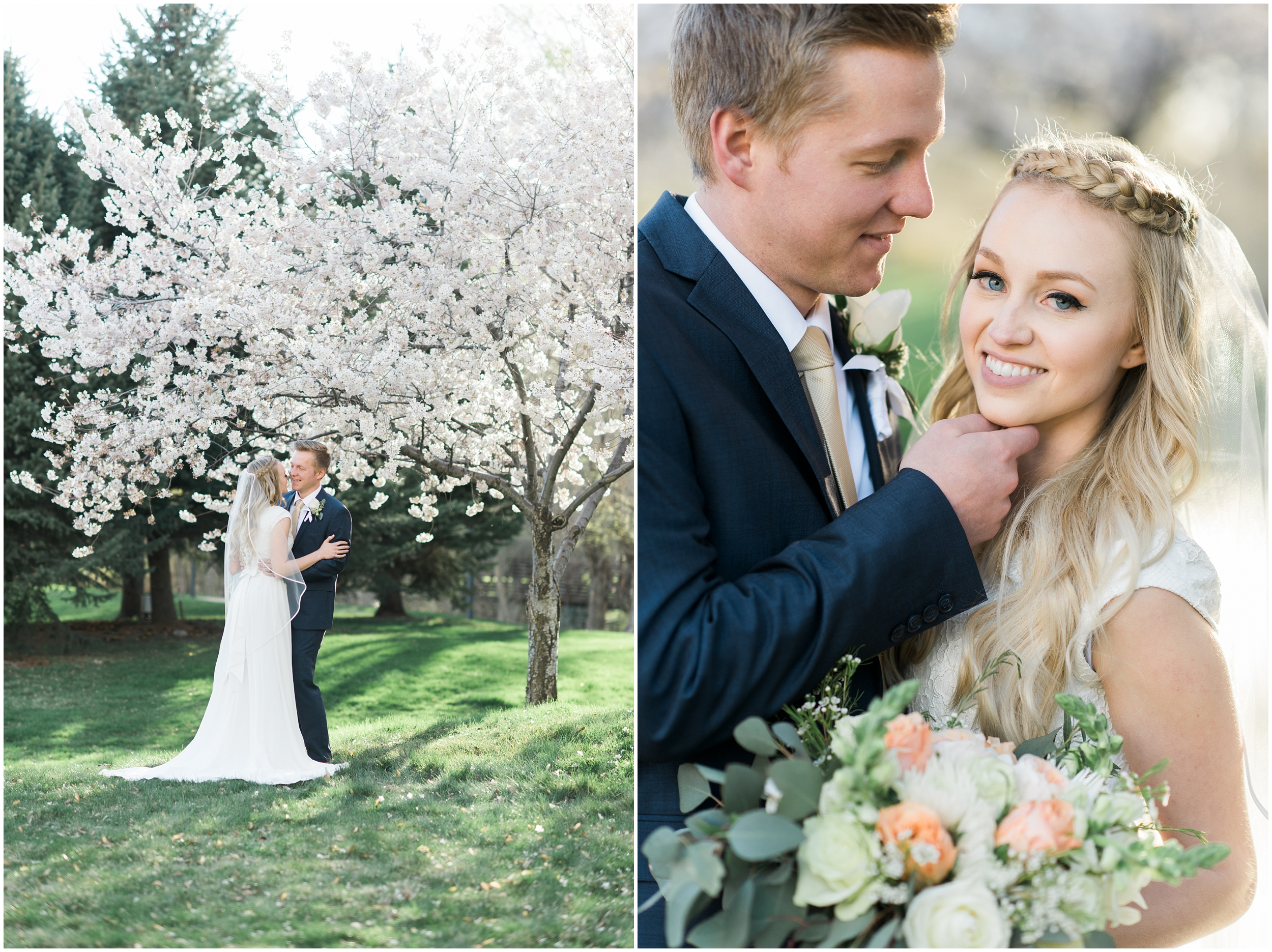 Kristina Curtis, blush flowers, spring blossoms photos, spring engagements, outdoor engagements, long veil, blush and navy wedding, spring outdoor engagements, photographers in Utah, Utah family photographer, family photos Utah, Kristina Curtis photography, Kristina Curtis Photographer, www.kristinacurtisphotography.com