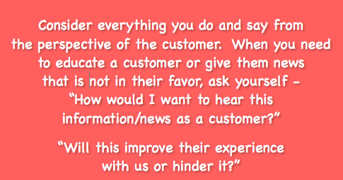 The Most Important Thing in Customer Experience? The Customer Perspective