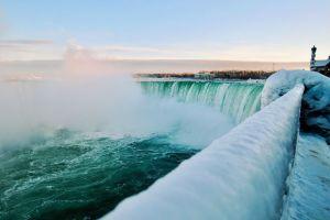 Frozen Beauty of Niagara Falls