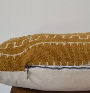 tea mudcloth pattern boho vintage pillow lumbar