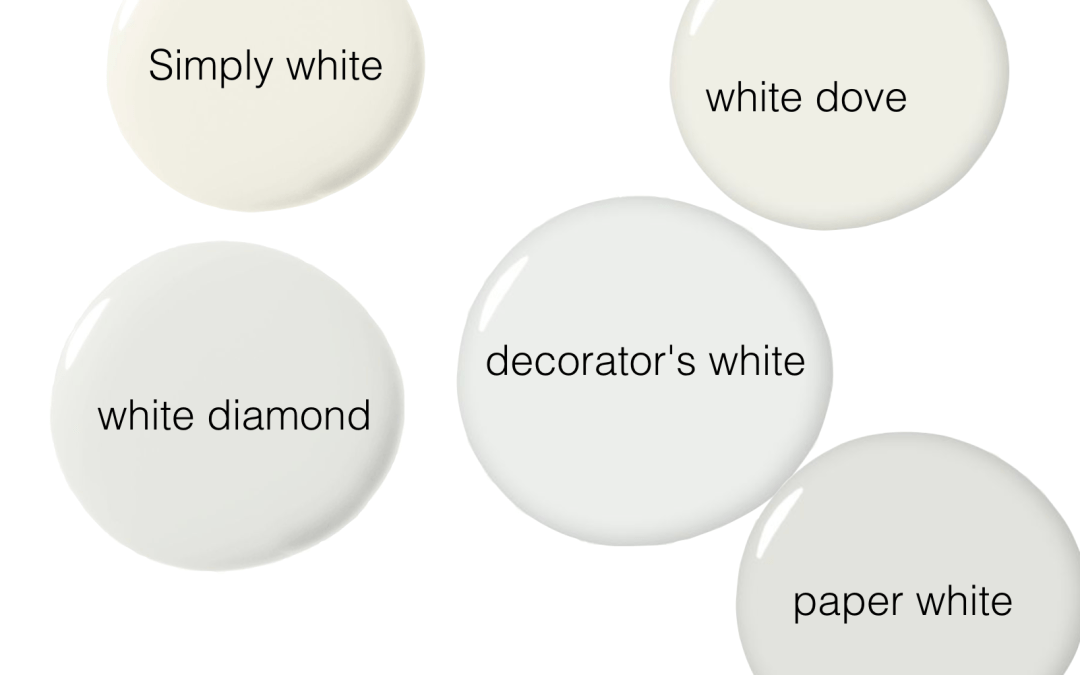 white paint choices and answers