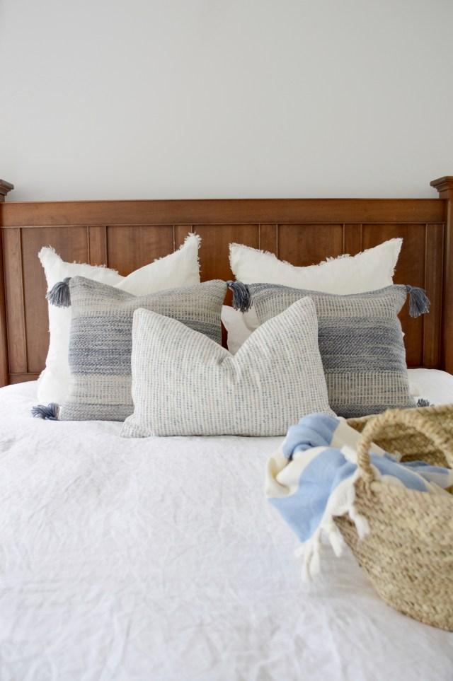 hamptons master bedroom